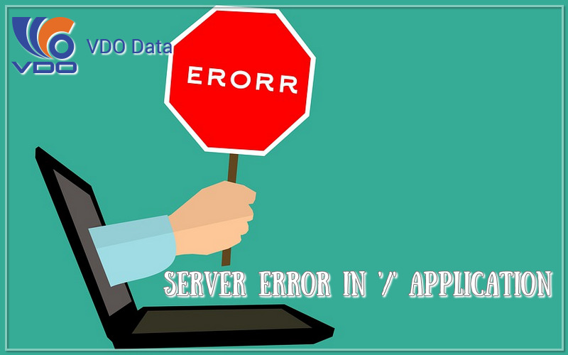 lỗi Server Error in '/' Application